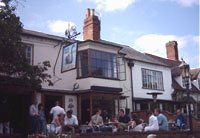 The Dirty Duck pub in Stratford upon Avon