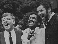 l to r: Peter Lawford, Sammy Davies Jnr & Jerry Lewis